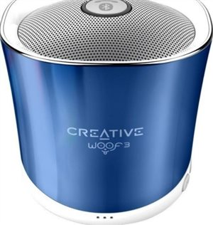 Φορητό Ηχείο Bluetooth Creative WOOF 3 Crystallite Blue